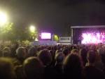 ambiance lors du concert à Anvers..