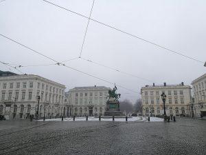 Bruxelles sous la neige