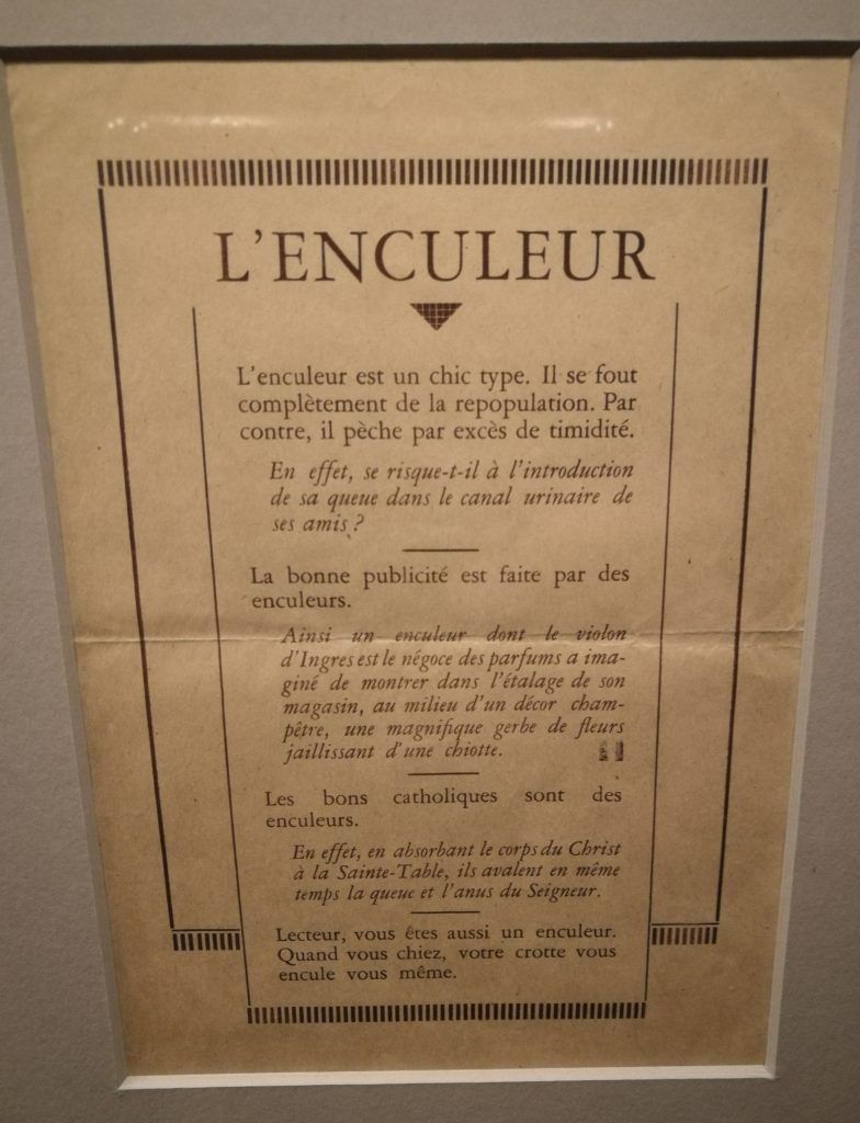 L'enculeur, Magritte.